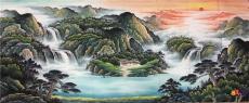 蚌埠国画油画客厅画墨轩厂家直供多款可选