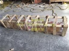 杭州定做玻璃木架