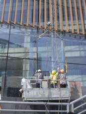 深圳广州中山高层建筑幕墙玻璃安装更换修补