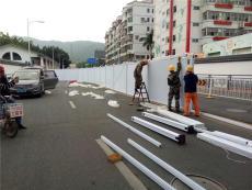 PVC围墙式护栏施工专用护栏安全护栏