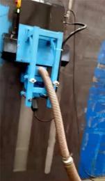 供应环保型爬壁机器人抛丸机