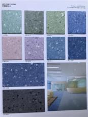 同质透心弹性地板一款免打蜡的pvc胶地板