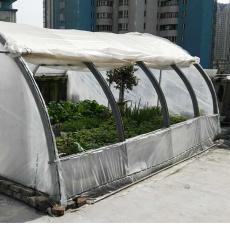 简易花园暖房塑木龙骨花房农用蔬菜水果大棚