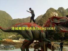 河北仿真玻璃钢恐龙雕塑定制报价是多少