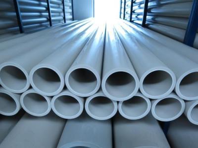 平达公司带着PPH管材参加竞标过程