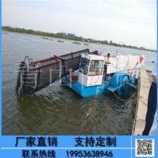 科大小型环保割草船北方水草收割清除船