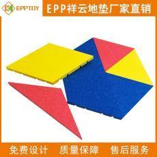 EPP安全地垫厂家 纯色益智拼接地垫