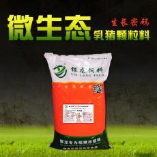 银龙微生态乳猪颗粒料开口料保育料断奶饲料