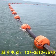 西安塑料管道浮体疏浚浮筒加工