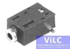 供应2.5贴片式耳机插座PJ2036A/音频连接器