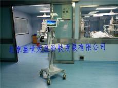天良医院移动探视系统现场施工图实物照片