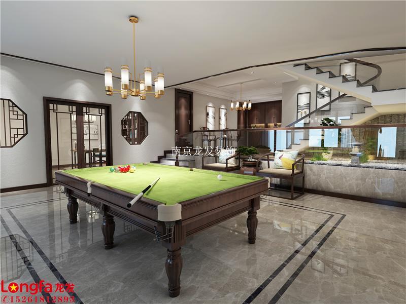 600平方新中式风格别墅装修效果图-南京别墅装修设计哪家好-上海的拍南京电视剧别墅图片