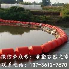 大面積垃圾攔污浮筒活動攔污排