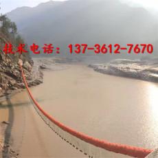 河道抗紫外線攔污漂垃圾攔截浮筒