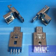 掀蓋或滑動OTG二合一-MICRO公頭加USB-2.0AM