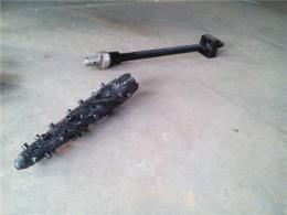 炼钢转炉出钢口更换钻头