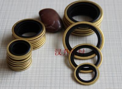 进口螺纹密封组合垫 英制G3/8镀锌 耐油