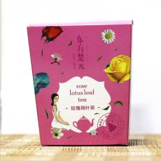 润泽神农 玫瑰荷叶茶 代加工组合花草茶