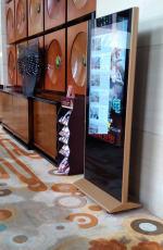 液晶廣告機租賃 高清立式大屏仿蘋果外觀