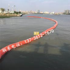 水上建設施工浮體垃圾攔截浮排工程
