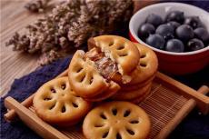 好食多冬己醇芯果酱饼蓝莓草莓果酱饼干Q弹