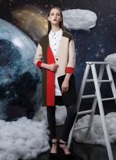 杭州大牌山水雨稞新款秋冬女裝品牌折扣批發