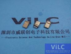 无缝款typeC公头-半拉伸/胶芯外露-磷铜镀镍