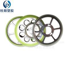 广州聚氨酯厂家定制高耐磨硅晶片切割机导轮