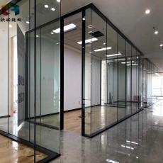 连云港欧诺高隔间百叶办公室玻璃隔断