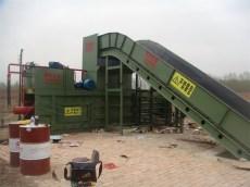 废料打包机适用于工厂下脚料打包机