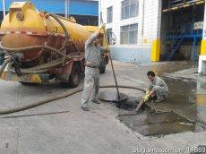 汉川新河工业园化粪池隔油池清理 抽粪抽泥