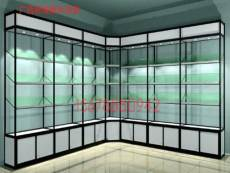广西南宁钛合金玻璃展示柜玻璃陈列柜