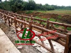 水泥仿木欄桿廠家 仿木護欄 仿木欄桿