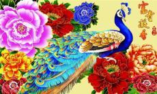 泰禾盛鑫钻石画色彩艳丽是新型的家居装饰品