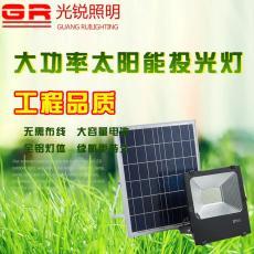 太阳能投光灯30W50W100W150W户外照明厂家