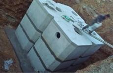 玻璃钢化粪池的替代品水泥成品化粪池