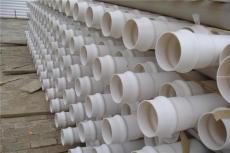 潍坊低压埋地排污排水用PVC-UH管材1200mm