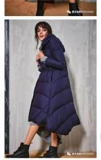 杭州2018新款摩多伽格冬季羽绒服韩版女装批