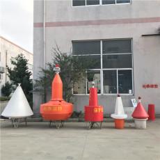 锥形聚乙烯浮标0.8米组合式航标批发