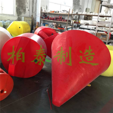 航道警示浮标定制大型塑料浮鼓厂家