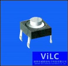 轻触开关TC-17XA/4P插板-圆柄按键-磷铜触件