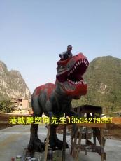 供应恐龙世界模型玻璃钢仿真动物恐龙雕塑