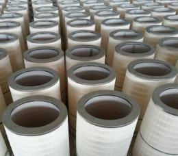PTFE覆膜除尘滤芯等离子激光切割烟气滤筒