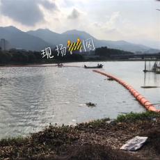 自动调节悬浮式拦污浮排垃圾拦污导漂