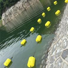 易组合式塑料浮筒1.1米拦污漂装置