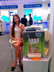 江浙沪地区出租商用冰淇淋机DIY自制三色软