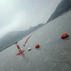 两头尖塑料浮筒树枝拦截浮漂设施