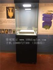 深圳博物馆展示柜制作厂家  古董古玩展示柜