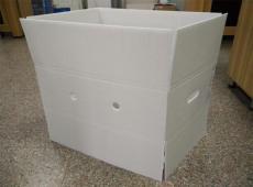 佛山钙塑箱纸箱型塑料