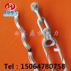 抱箍线夹ADSS光缆耐张线夹固定安装步骤